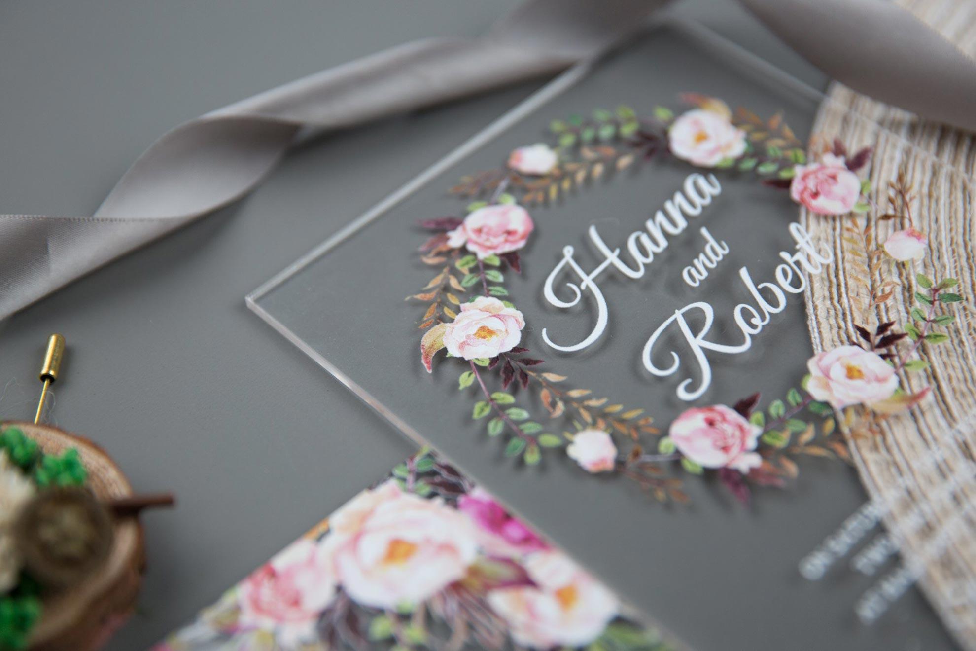 partecipazioni plexiglass wedding momenti eventi
